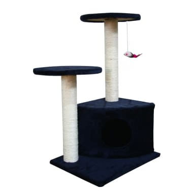 Scratching Cat Play Pole Dark Blue[1/3]