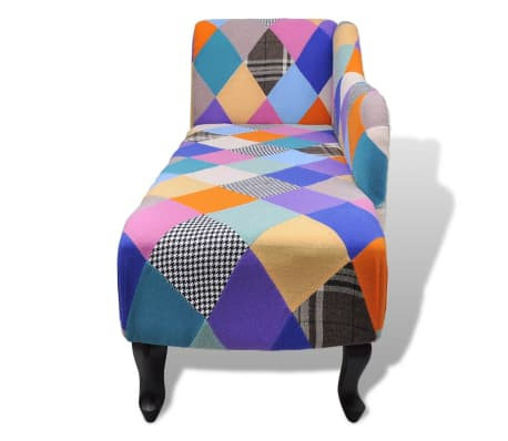 Chesterfield chaise longue ligstoel patchwork online for Chaise longue patchwork