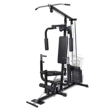 vidaXL Banc de Musculation Station de Musculation[1/5]