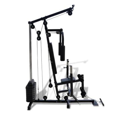 vidaXL Banc de Musculation Station de Musculation[4/5]