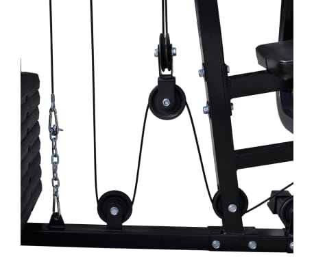 Vidaxl Banc De Musculation Station De Musculation Vidaxlfr
