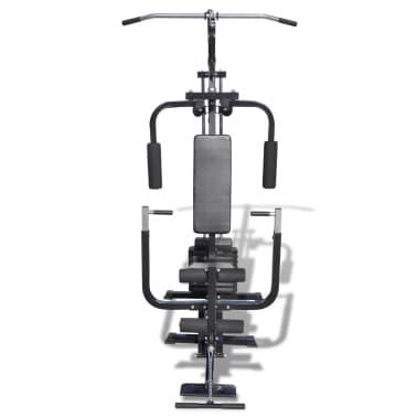 vidaXL Banc de Musculation Station de Musculation[3/5]