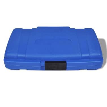 Dopsleutel set veeltand fitting (19 stuks) + opbergkoffer[6/6]