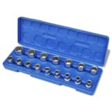 12-Corner Socket Set 16 pcs with Storage Case
