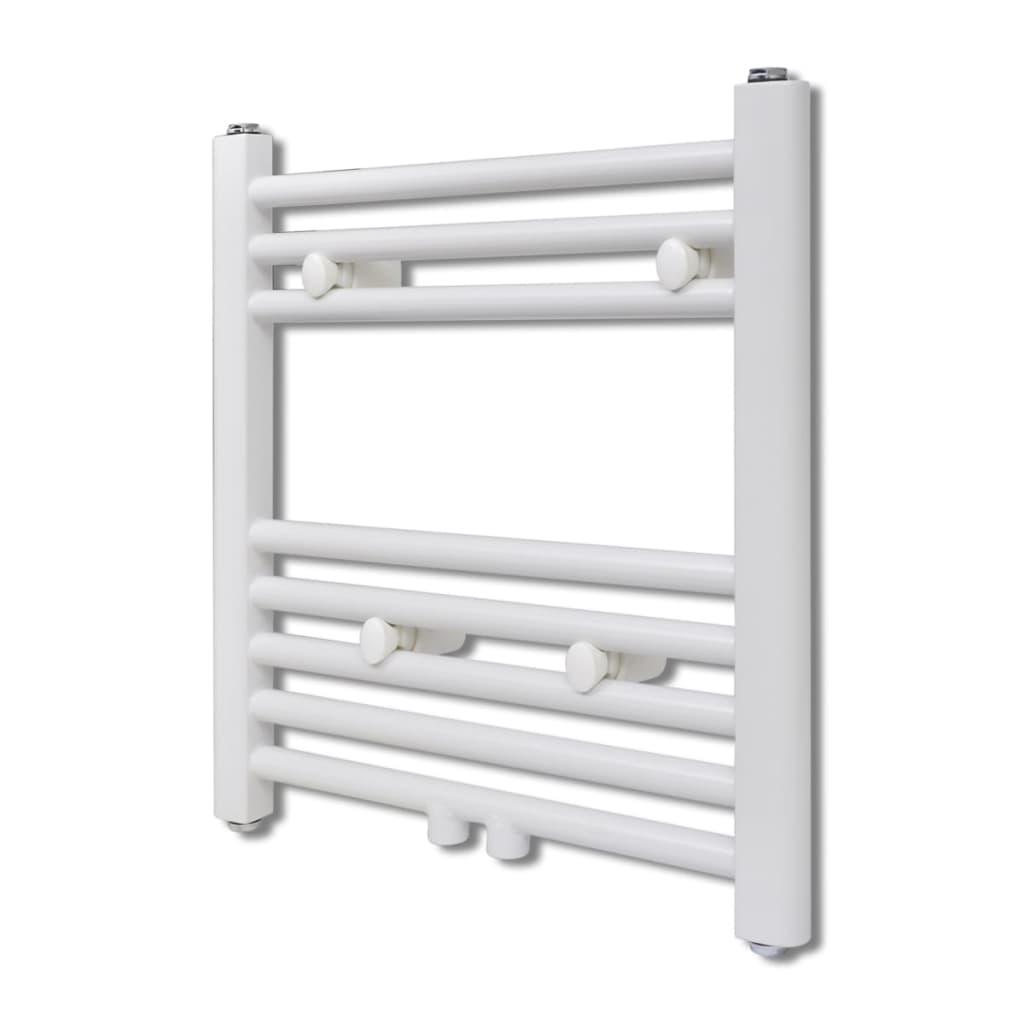 Žebříkový radiátor na ručníky rovný ústřední topení 480 x 480  mm