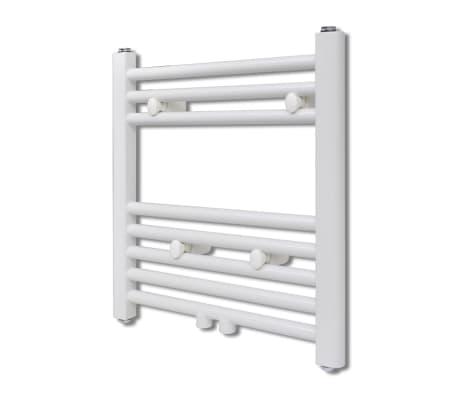 Håndklædetørrer til badeværelset centralvarme lige 480 x 480 mm[1/8]