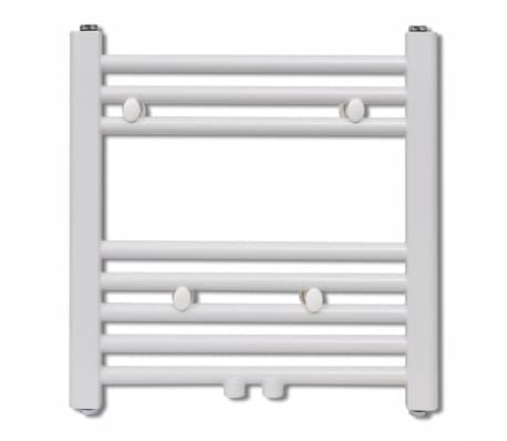 Håndklædetørrer til badeværelset centralvarme lige 480 x 480 mm[2/8]