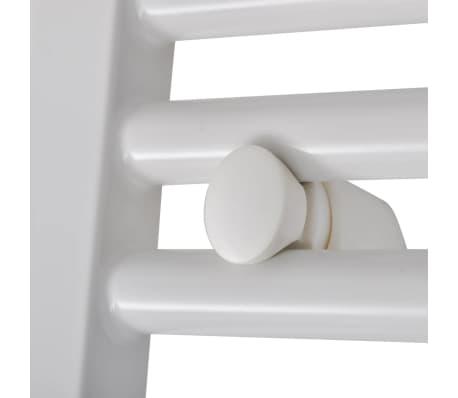 Håndklædetørrer til badeværelset centralvarme lige 480 x 480 mm[5/8]