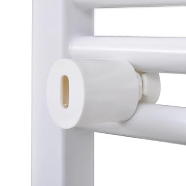 Håndklædetørrer til badeværelset centralvarme lige 480 x 480 mm[6/8]