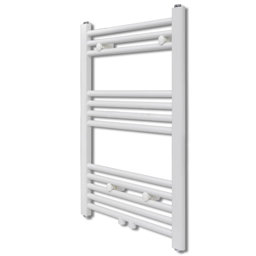 Žebříkový radiátor na ručníky rovný ústřední topení 500 x 764 mm