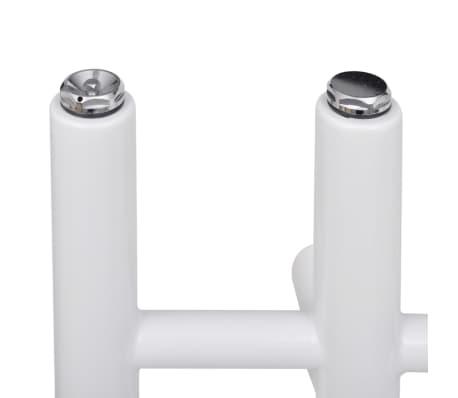 Kylpyhuoneen Keskuslämmitys Pyyheteline E-muoto 600 x 1200 mm[3/8]