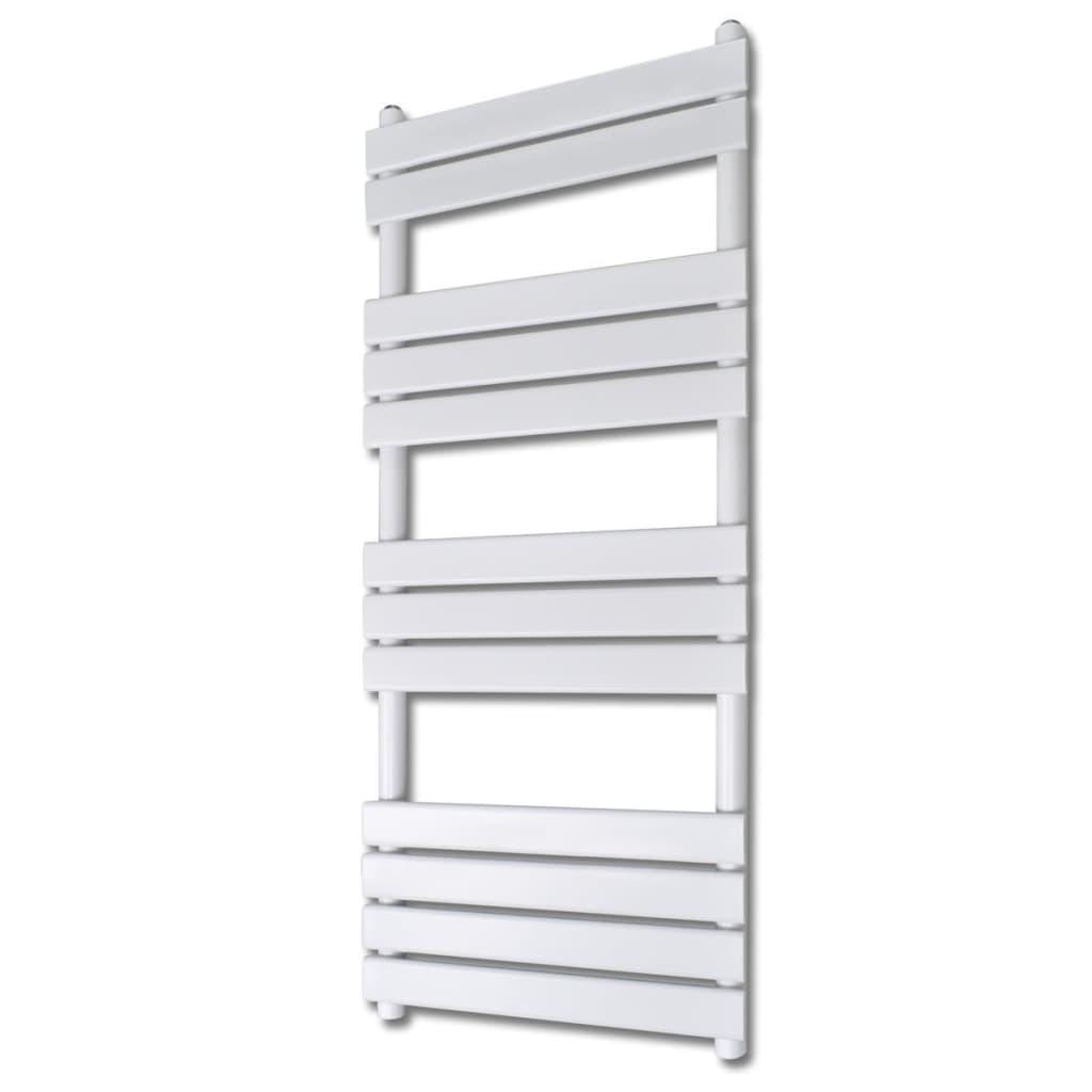 Žebříkový radiátor na ručníky rovný ústřední topení 600x1400 mm