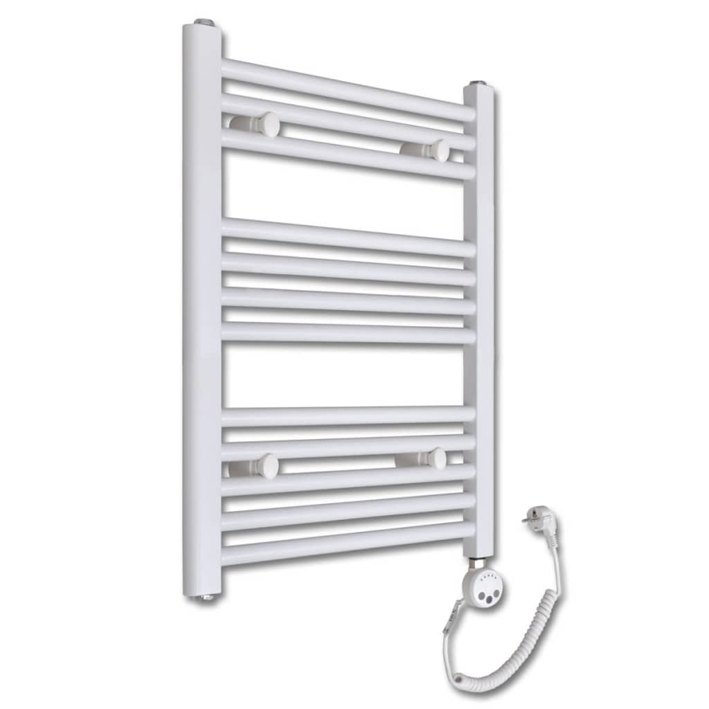 Radiator baie cu termostat electric, model drept, 300 W, 500 x 764 mm vidaxl.ro