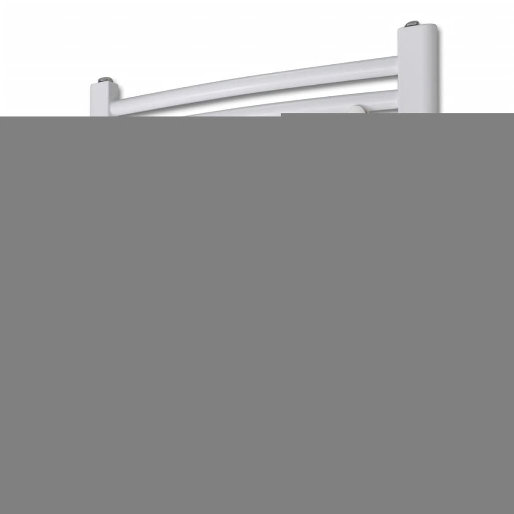 Radiator baie cu termostat electric 300 W 480 x 480 mm model curbat vidaxl.ro