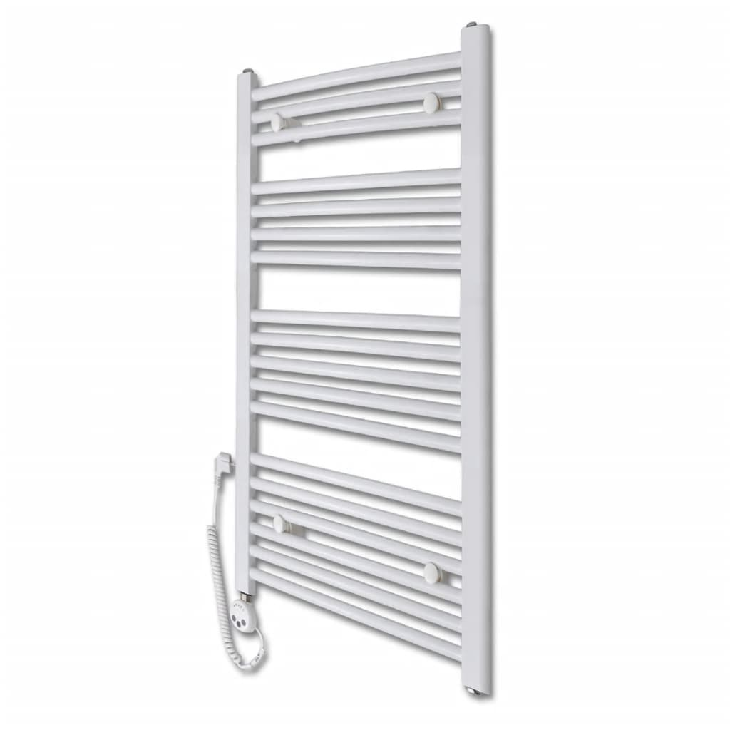 Radiator baie cu termostat electric 600 W 500 x 1160 mm model curbat vidaxl.ro