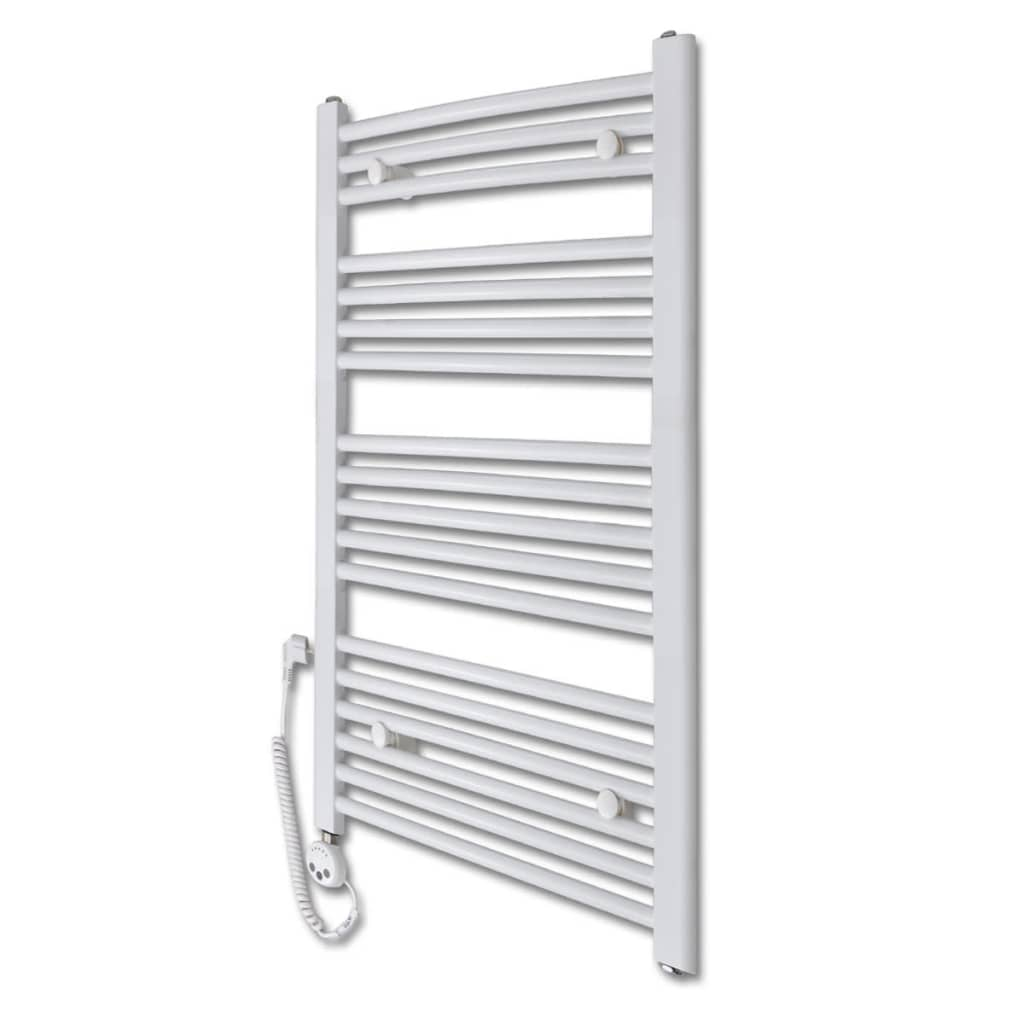 Radiator baie cu termostat electric 600 W 600 x 1160 mm model curbat vidaxl.ro
