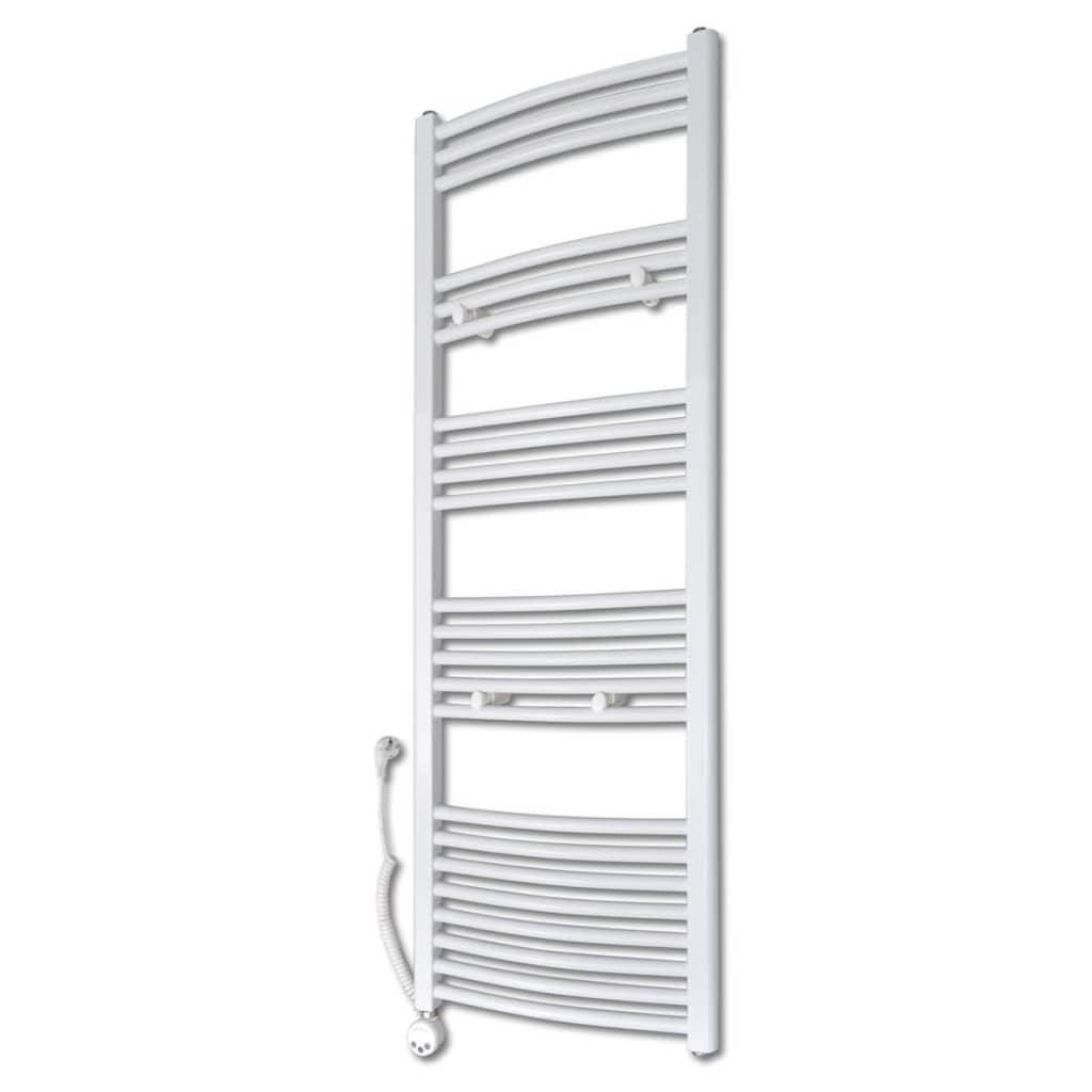 Radiator baie cu termostat electric 600 W 500 x 1424 mm model curbat vidaxl.ro