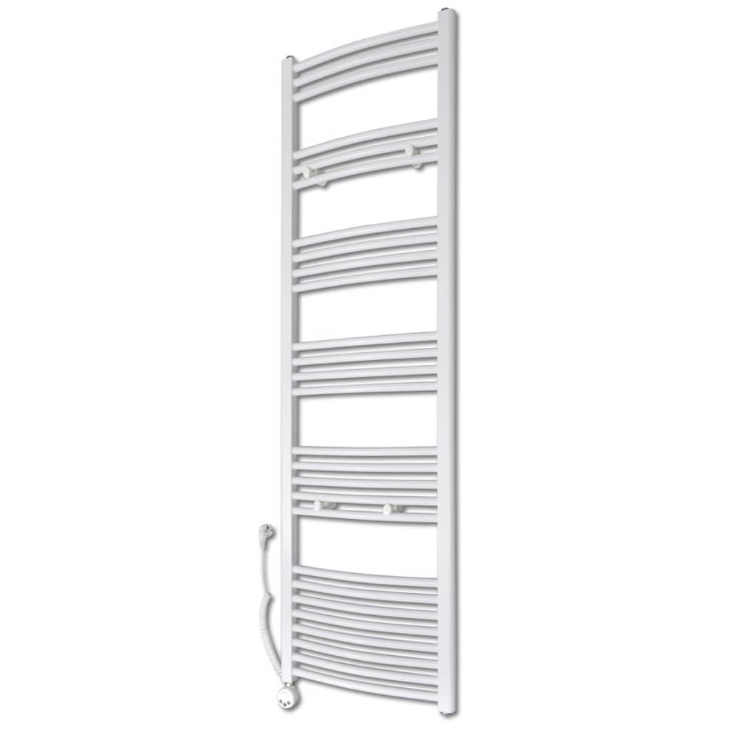 Radiator baie cu termostat electric, model curbat, 500x1732 mm, 1000 W vidaxl.ro