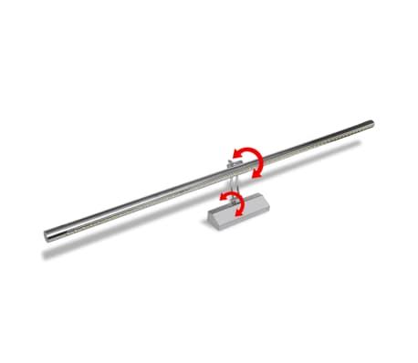 Shop LED-lampe til spejl, snehvid, 15 W, 105 cm | vidaXL