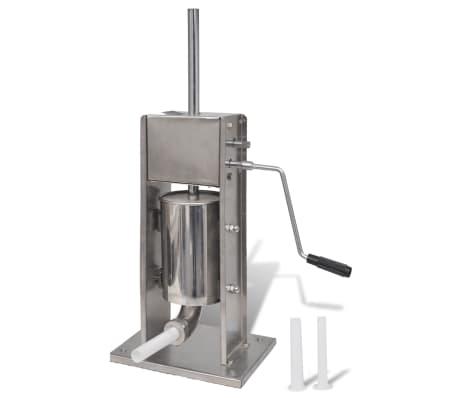 Manuell pølsemakermaskin rustfritt stål 3 liter