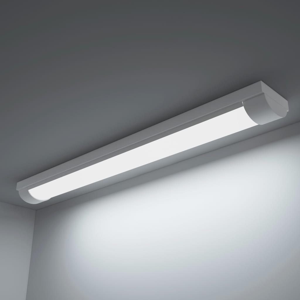 Lampă de tavan LED cu lumină albă rece, 14 W poza 2021 vidaXL