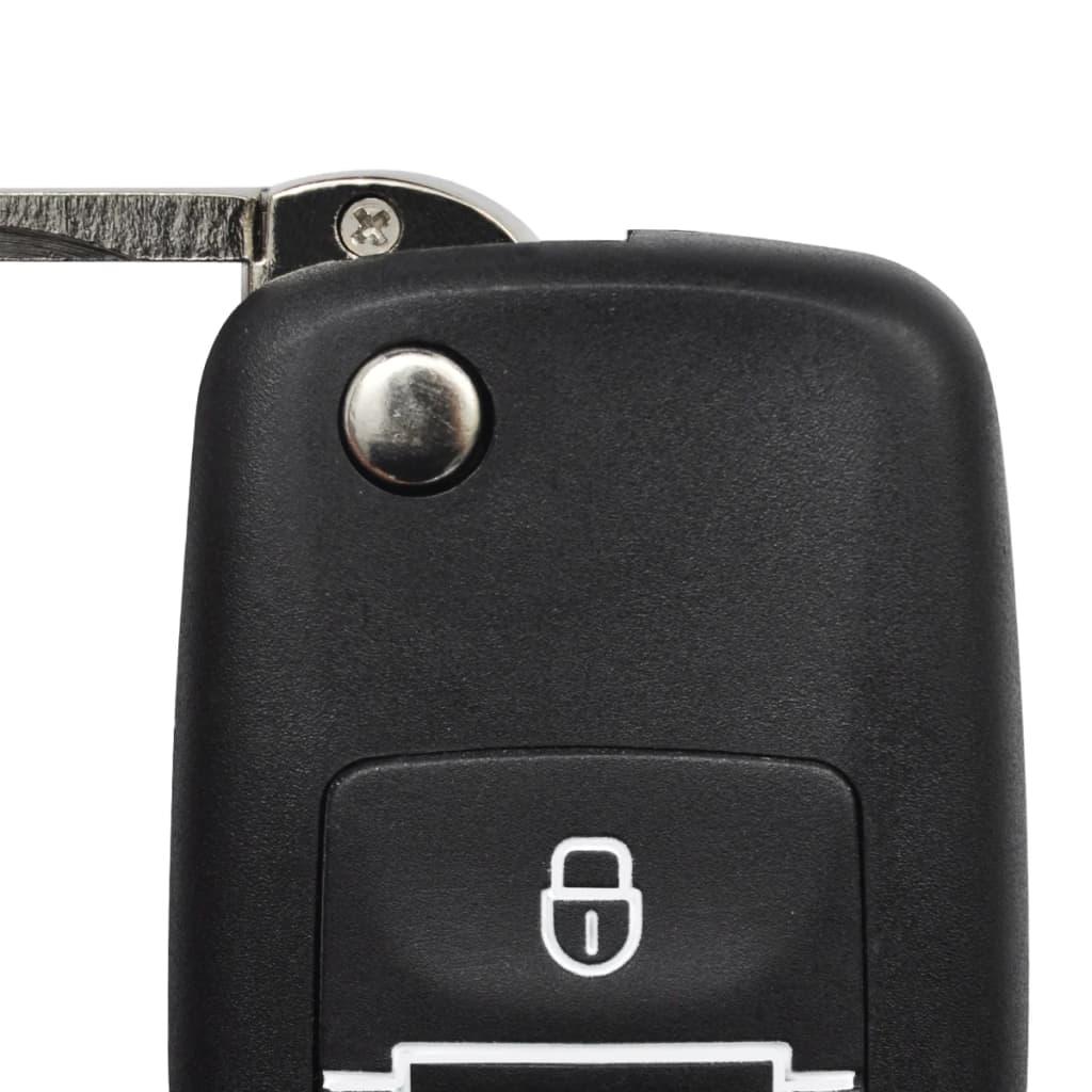 Auto kesklukustussüsteem kahe võtmega kaugjuhitav VW Škoda Audi