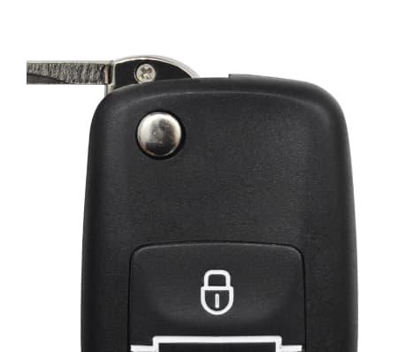 Kit închidere centralizată auto cu 2 telecomenzi chei VW Skoda Audi[7/7]