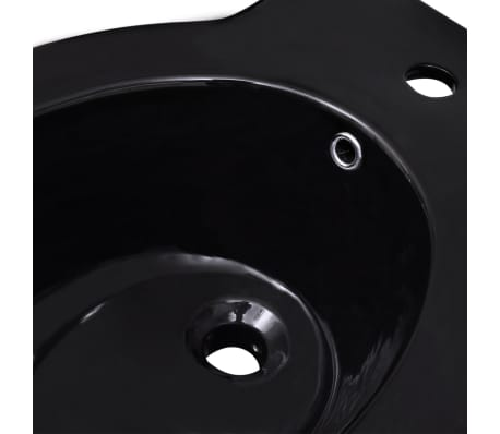 staand toilet en bidet set zwart online kopen. Black Bedroom Furniture Sets. Home Design Ideas