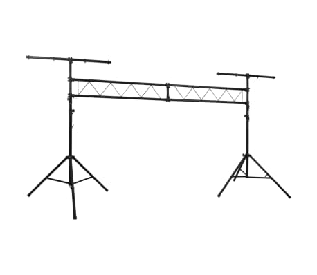 Details About Vidaxl Portable Lighting Truss System With 2 Tripods 3m Lamp Light Stand Rack