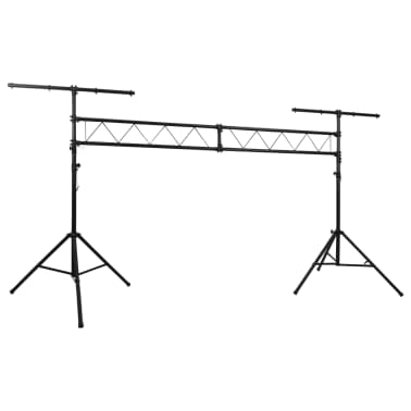 vidaXL Portable Lighting Truss System with 2 Tripods 10 ft[1/4]