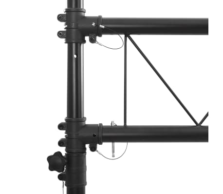 vidaXL Portable Lighting Truss System with 2 Tripods 10 ft[4/4]