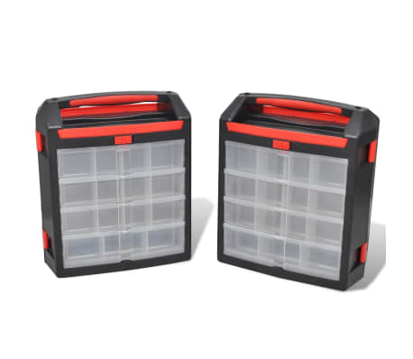 Tool Case 2 pcs Tool Box Tool Storage[1/5]