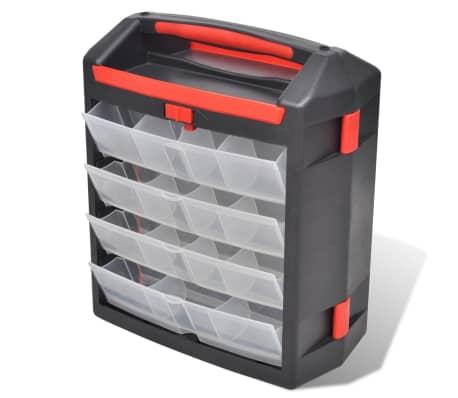 Tool Case 2 pcs Tool Box Tool Storage[4/5]