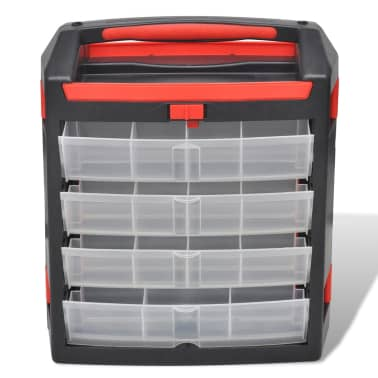 Tool Case 2 pcs Tool Box Tool Storage[3/5]