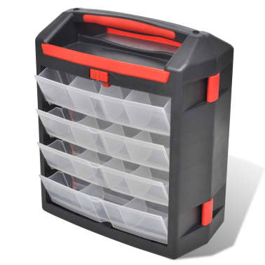 Tool Case 2 pcs Tool Box Tool Storage[4/5]