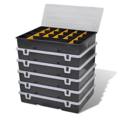 vidaXL Boîte à outils 6 pcs[3/9]