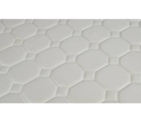 lit en cuir 180 200 cm blanc avec clairage led avec matelas. Black Bedroom Furniture Sets. Home Design Ideas