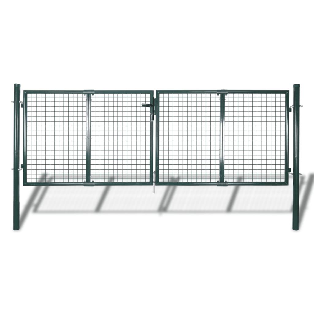 Zahradní brána z pletiva 289 x 100 cm / 306 x 150 cm
