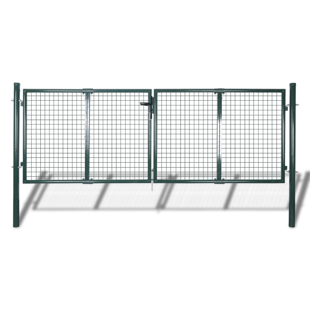 Zahradní brána z pletiva 289 x 125 cm / 306 x 175 cm