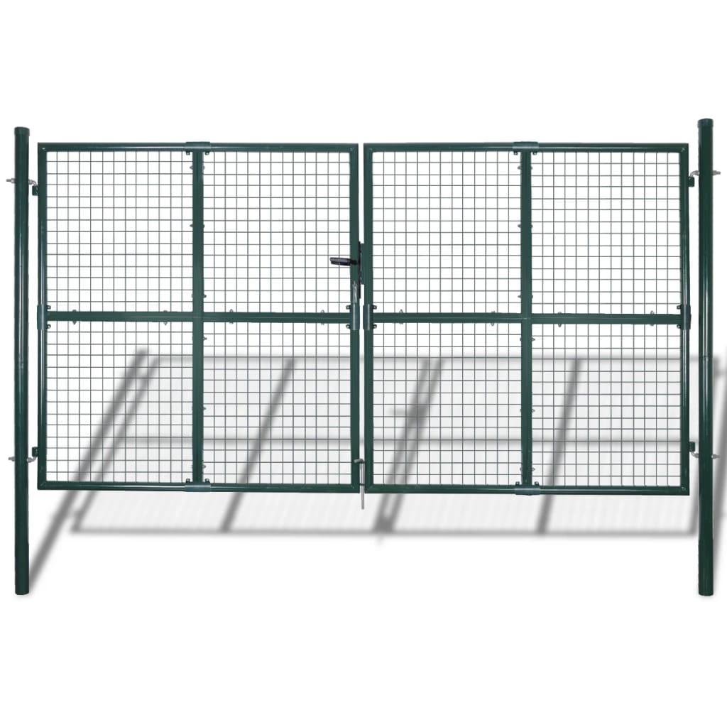 Zahradní brána z pletiva 289 x 175 cm / 306 x 225 cm