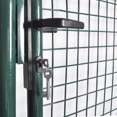 "Garden Mesh Gate Fence Door Wall Grille 39""W x 49""H[3/5]"
