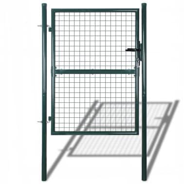 "Garden Mesh Gate Fence Door Wall Grille 39""W x 79""H[1/7]"
