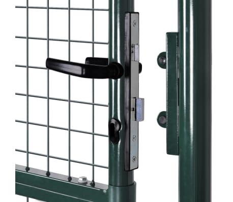 "Garden Mesh Gate Fence Door Wall Grille 39""W x 79""H[6/7]"