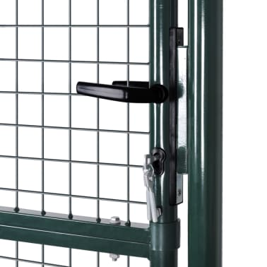 "Garden Mesh Gate Fence Door Wall Grille 39""W x 79""H[5/7]"