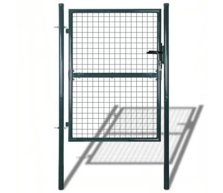 "Garden Mesh Gate Fence Door Wall Grille 39""W x 98""H[1/7]"