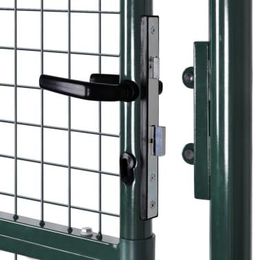 "Garden Mesh Gate Fence Door Wall Grille 39""W x 98""H[6/7]"