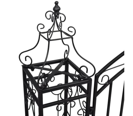 "vidaXL Ornamental Garden Gate Wrought Iron 4'x8""x4' 5""[4/5]"