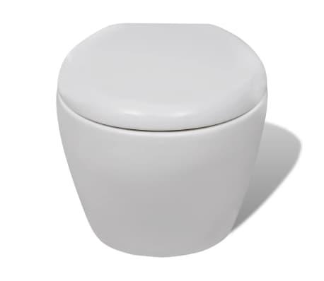 wand h nge wc toilette wandh ngend soft close wc sitz g nstig kaufen. Black Bedroom Furniture Sets. Home Design Ideas