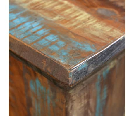 Reclaimed Wood Stool Hocker Antique Chair[6/7]