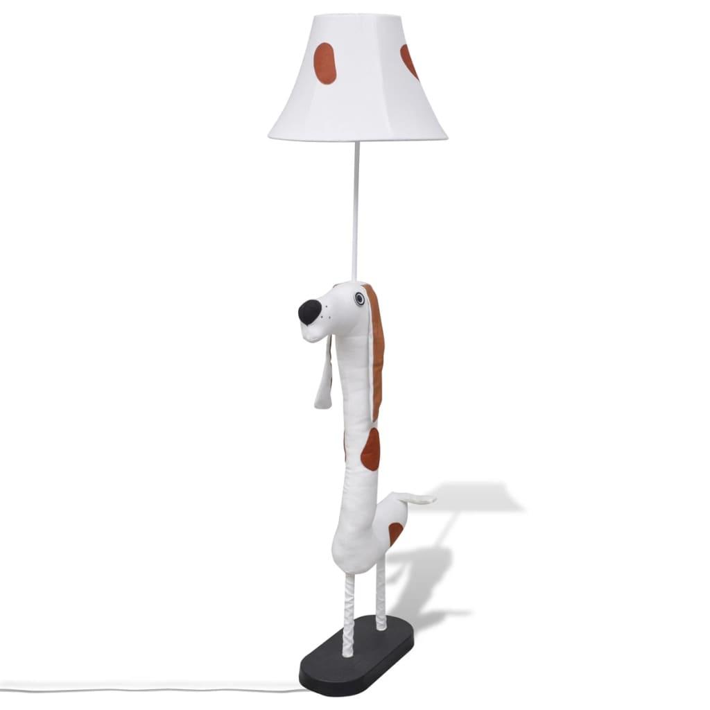 Zvířecí stojací lampa ve tvaru psa, domácí dekorace